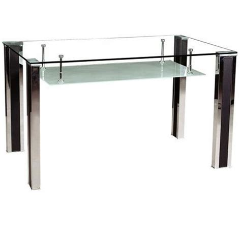 dining table tempered glass modern tempered glass dining table dt003 china dining