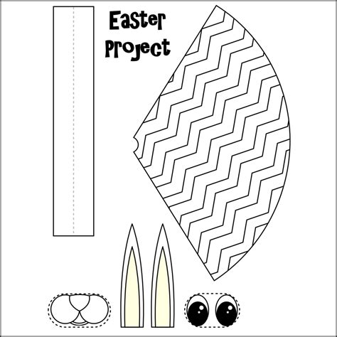 printable easter crafts for 7 best images of free printable crafts for