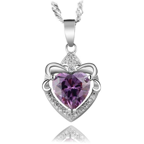 silver pendants for jewelry 100 925 silver beautiful necklace lovely water drop