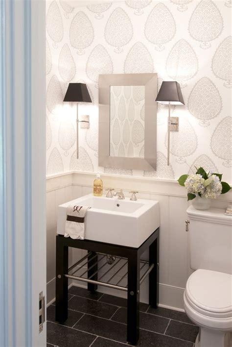 wallpaper in bathroom ideas of design small bathrooms that look grande