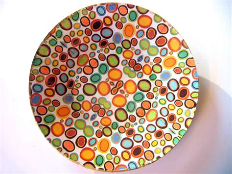decoupage glass plates modern pebbles 8 inch decoupage glass plate by