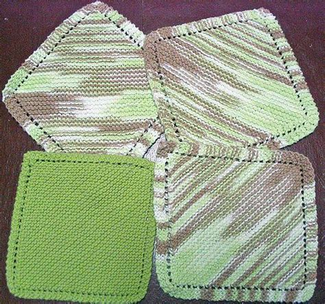 diagonal knit dishcloth diagonal knit dishcloth pattern crochet