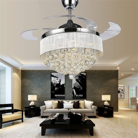 ceiling fans with chandeliers new product luxury ceiling fan l