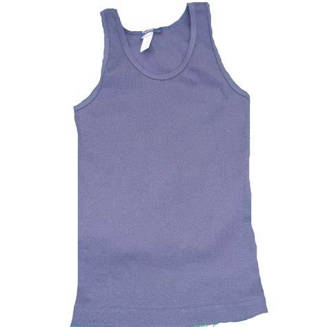 Made In Usa Child S Rib Knit Tank Top