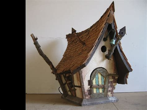 Tudor Home Plans birdhouse crookedbirdhouse