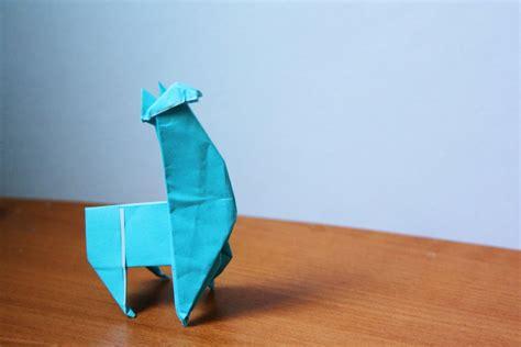 origami llama origami llama by ahnqq on deviantart