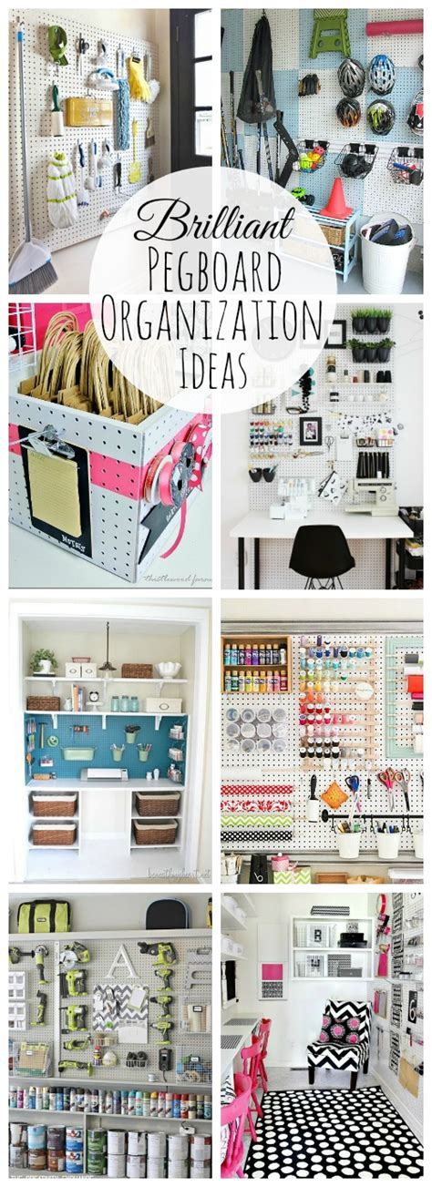 Garage Design Tool Garage pegboard organization clean and scentsible