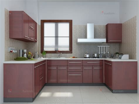 Ideas To Update Kitchen Cabinets u shaped modular kitchen designs