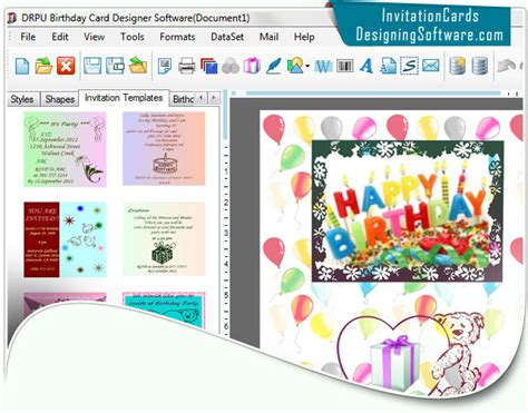 software for cards and invitations office suites tools birthday cards designing software