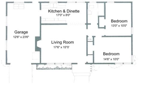 2 bedroom house floor plans simple house plan with 2 bedrooms house floor plans