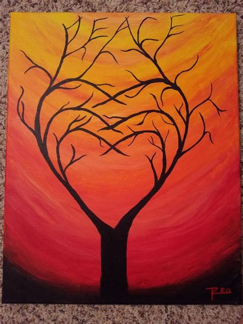 acrylic painting ideas trees pix for gt acrylic painting for beginners tree painting