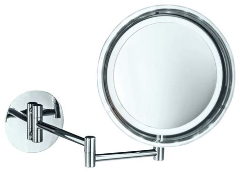 battery operated bathroom mirrors smile 716 battery operated lighted makeup mirror 5x