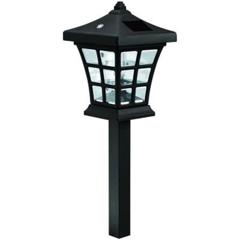 solar lights at home depot westinghouse venture solar path light set 6 326203