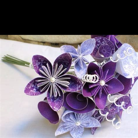 origami flower wedding 17 best images about bouquet on floral