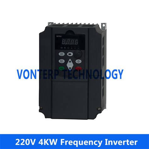 Motor 4kw 220v by Ac Motor Speed Frequency Converter 220v 4kw