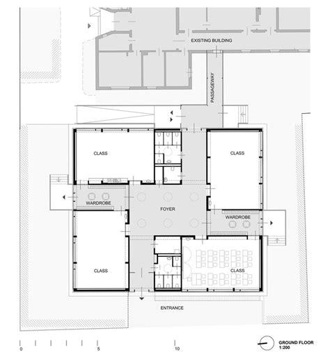 floor plan definition architecture elementary school baslergasse kirsch architecture