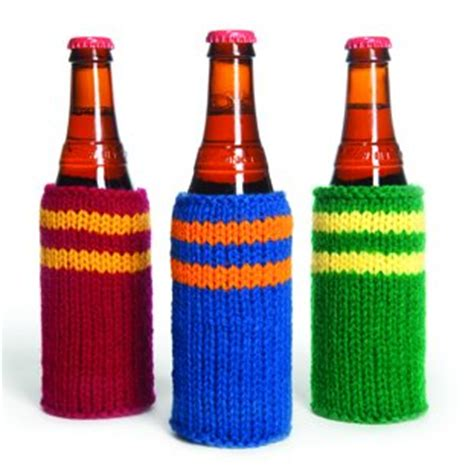 knitted koozie knit cozy pattern 1000 free patterns