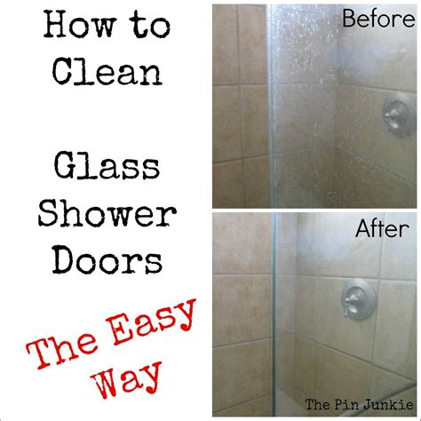 best way to clean a glass shower door win glass shower door cleaner fail