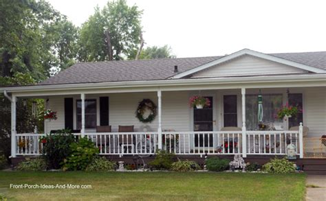 Build A Porch Roof ranch home porches add appeal and comfort