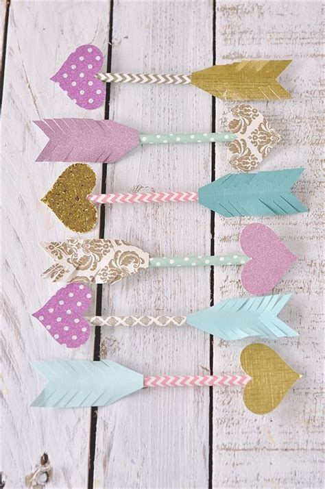 paper craft straws paper straw arrows dress up your card or gift