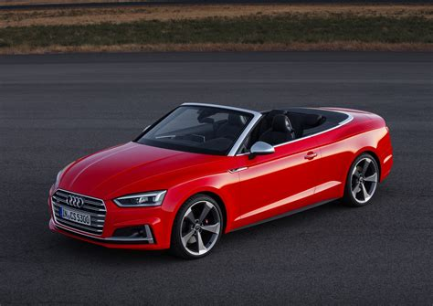Audi A5 Cabriolet by 2017 Audi A5 Cabriolet And 2017 Audi S5 Cabriolet