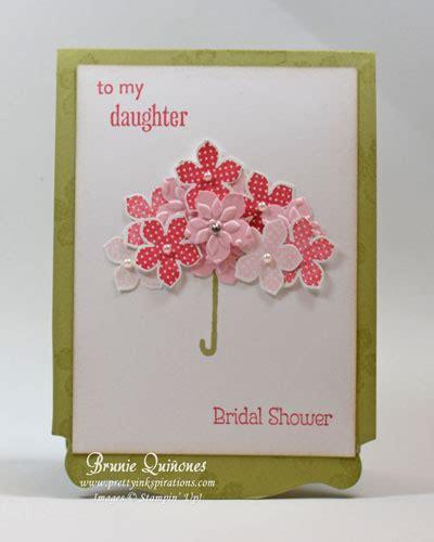 wedding shower cards to make petals bridal shower
