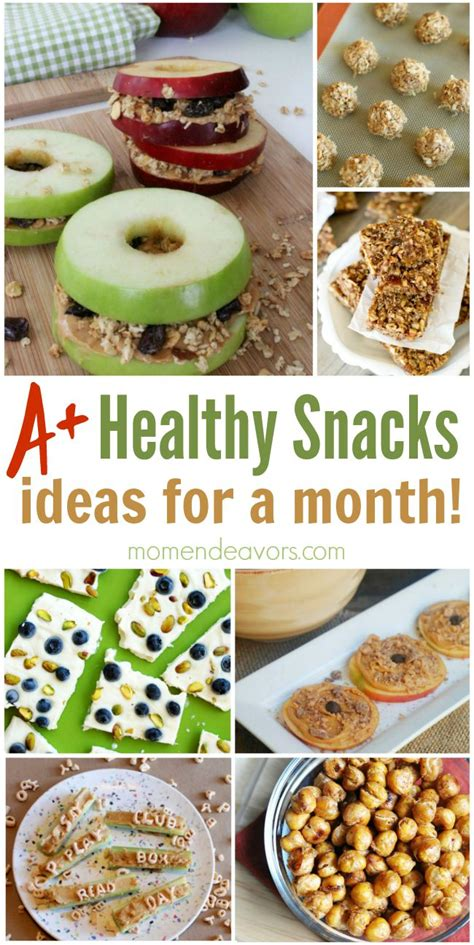 healthy snacks for a month of healthy snack ideas easy creative ideas