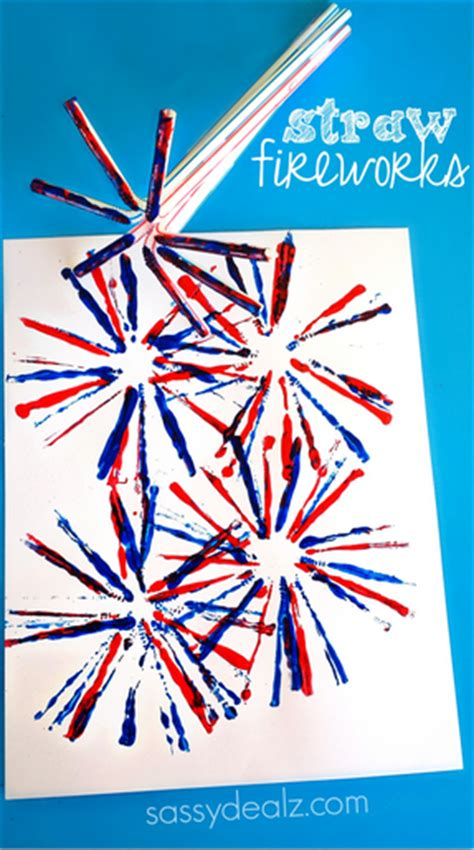 fireworks craft for kid s crafts 4th of july think crafts by createforless