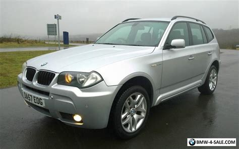 2007 Bmw X3 For Sale by 2007 Four Wheel Drive X3 For Sale In United Kingdom