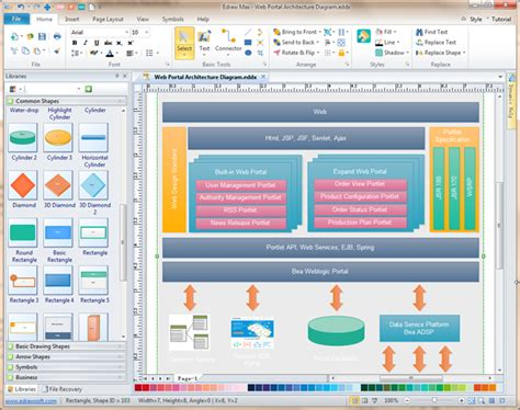 architecture design software free software architecture diagramming tool