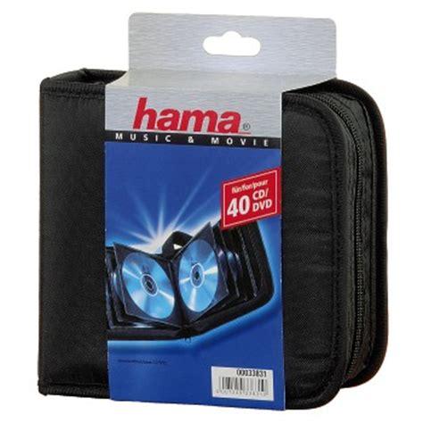 cheap hama uk hama 40 cd wallet 00033831