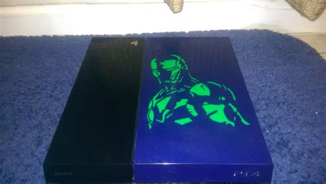spray painter ps4 decided to paint my ps4 what do you think gaming
