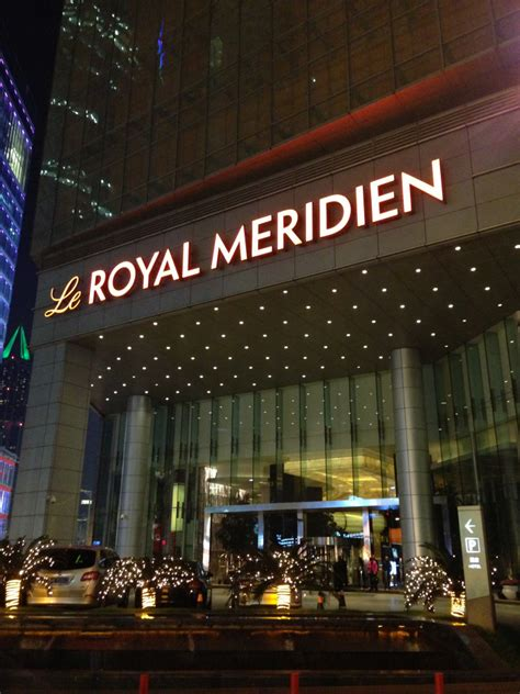 le royal meridien shanghai hotel review points summary