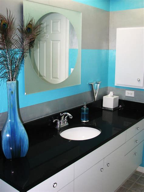 black and blue bathroom ideas purple bathroom decor pictures ideas tips from hgtv hgtv