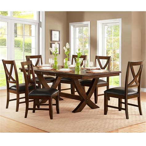 dining chairs costco bayside furnishings extending dining table 6 chairs