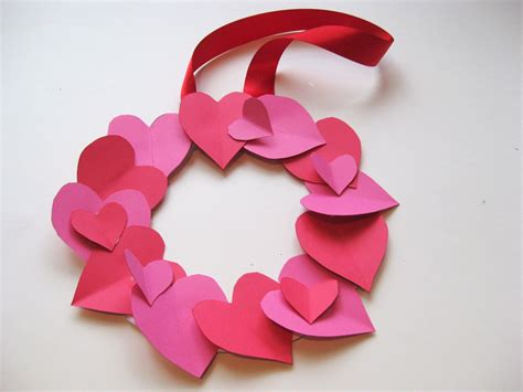 easy valentines crafts for crafts for wreath