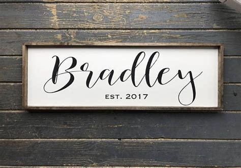 best 25 painted name signs ideas on name the 25 best family name signs ideas on last