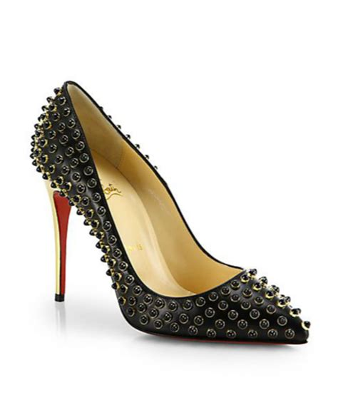 beaded pumps shoe of the day christian louboutin beaded leather pumps