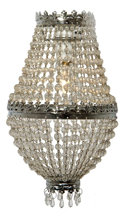 beaded chandelier shades chrome silver beaded droplet pendant chandelier light l