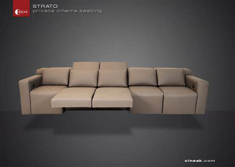 home theater sectional sofas home theater seats by cineak luxury seating by