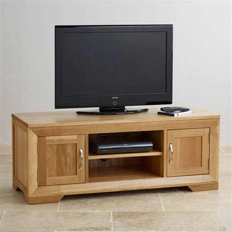 solid oak tv cabinet bevel solid oak widescreen tv dvd cabinet