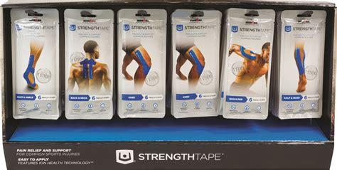 rubber st kits strengthtape kinesiology kit display