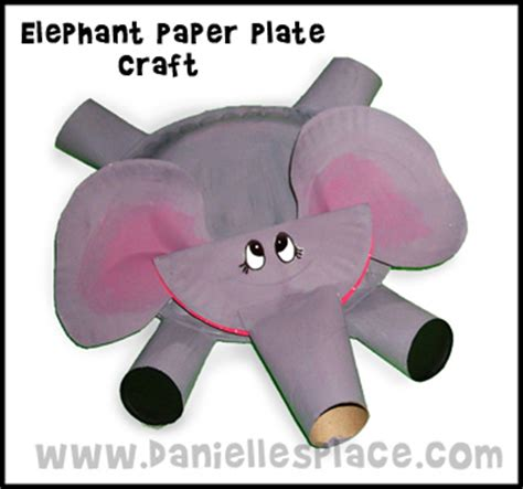 paper plate elephant craft elephant craft paper plate template search results