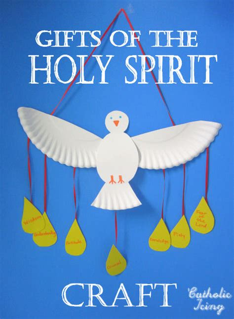 holy spirit crafts for gifts of the holy spirit