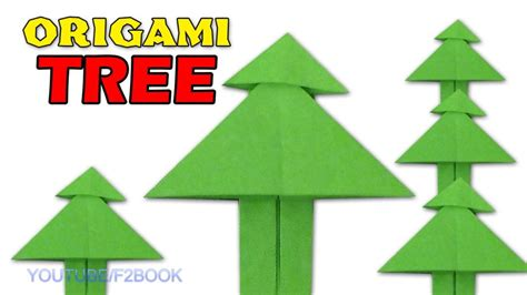 origami tree step by step free coloring pages paper tree origami easy paper