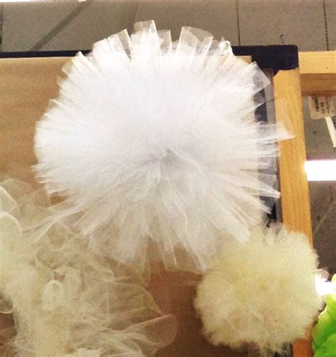 tulle craft projects tulle pom pom crafts direct