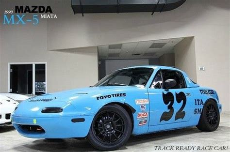 buy car manuals 1990 mazda mx 5 electronic toll collection sell used 1990 mazda miata mx 5 race car track ready crate engine ita spec wow in west
