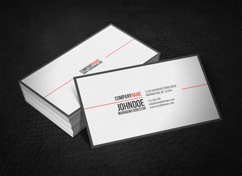 how to make a simple business card simple professional business card v2 by glenngoh on deviantart