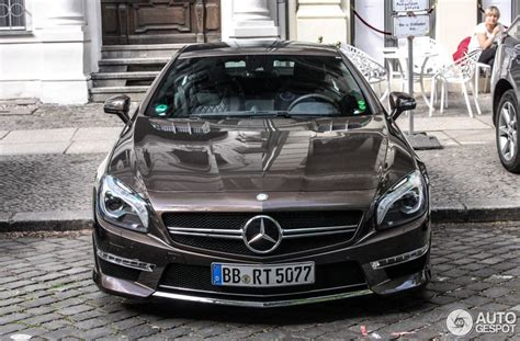 Mercedes Paint by Paint Makes This Mercedes Sl65 Amg Stand Out In