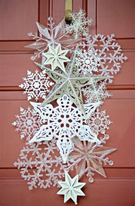 outdoor snowflake decorations 40 diy paper snowflakes decoration ideas bored